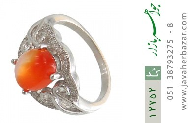 انگشتر عقیق یمن حکاکی شرف الشمس - کد 12752