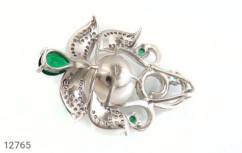مدال مروارید درشت و سلطنتی زنانه - عکس 3