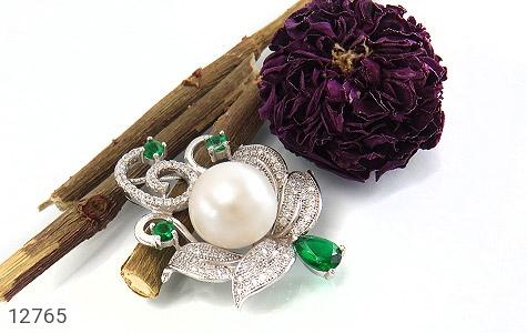 مدال مروارید درشت و سلطنتی زنانه - تصویر 4
