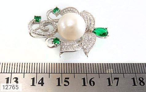 مدال مروارید درشت و سلطنتی زنانه - عکس 5