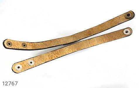دستبند چرم و عقیق باباقوری جذاب طرح اسپرت - عکس 5