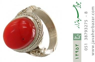 انگشتر عقیق یمن رکاب دست ساز - کد 12952
