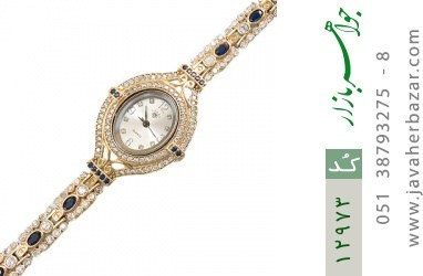 ساعت نقره مجلسی طرح آیمان زنانه - کد 12973