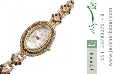 ساعت نقره مجلسی طرح آنایار زنانه - کد 12979