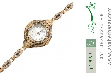 ساعت نقره مجلسی طرح آناک زنانه - کد 12981