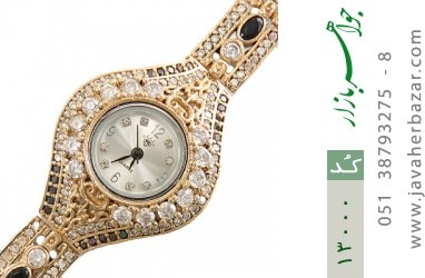 ساعت نقره مجلسی طرح آلگون زنانه - کد 13000