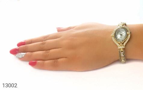 ساعت نقره مجلسی طرح یکتا زنانه - عکس 7