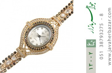 ساعت نقره مجلسی طرح یکتا زنانه - کد 13002