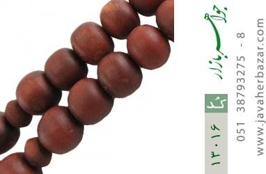 تسبیح چوب حکاکی الله محمد دست ساز - کد 13016