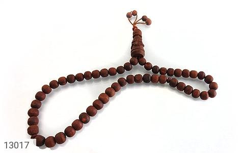 تسبیح چوب دانه ها دست ساز - عکس 1