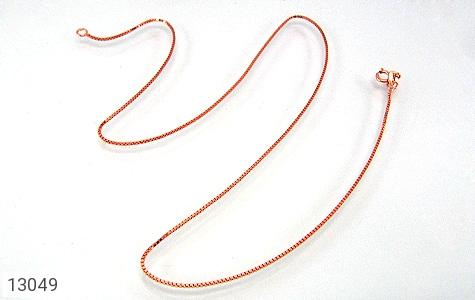 زنجیر نقره ونیزی 45 سانتی مسی - تصویر 4