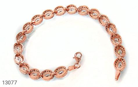 دستبند نقره نانویی طرح جمیل زنانه - تصویر 2