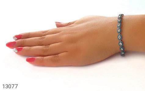 دستبند نقره نانویی طرح جمیل زنانه - تصویر 8