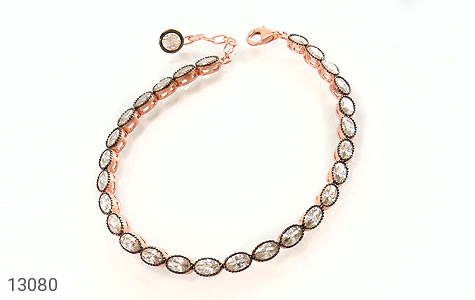 دستبند نقره نانویی طرح الماس نشان زنانه - عکس 1