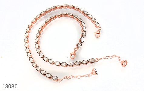 دستبند نقره نانویی طرح الماس نشان زنانه - تصویر 2