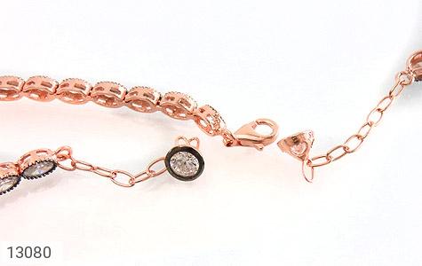 دستبند نقره نانویی طرح الماس نشان زنانه - تصویر 4