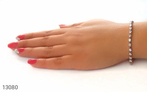 دستبند نقره نانویی طرح الماس نشان زنانه - عکس 7