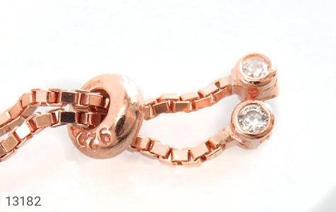 دستبند نقره فانتزی طرح خرچنگ زنانه - تصویر 4
