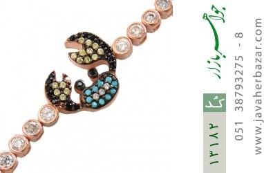 دستبند نقره فانتزی طرح خرچنگ زنانه - کد 13182