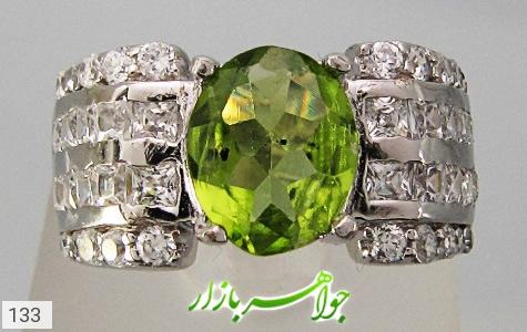 انگشتر زبرجد زنانه - عکس 3