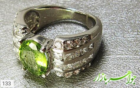 انگشتر زبرجد زنانه - تصویر 4