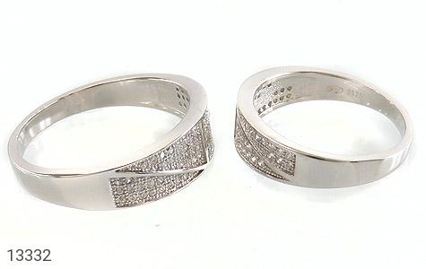 حلقه ازدواج نقره طرح باراد - عکس 3