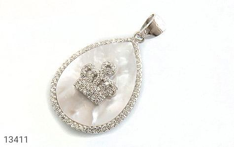 سرویس صدف اشکی طرح سلطنتی زنانه - تصویر 4