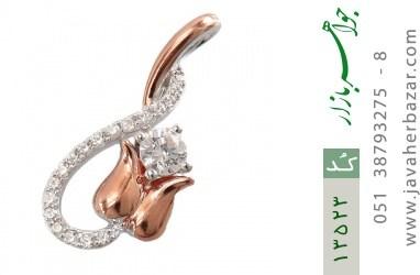 مدال نقره مجلسی طرح لاله زنانه - کد 13523
