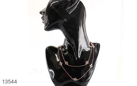 سینه ریز نقره بلند و جذاب زنانه - تصویر 6