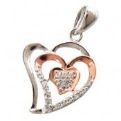 مدال نقره طرح عشق زنانه