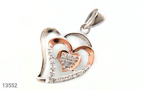 مدال نقره طرح عشق زنانه - عکس 1