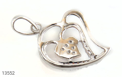 مدال نقره طرح عشق زنانه - عکس 3