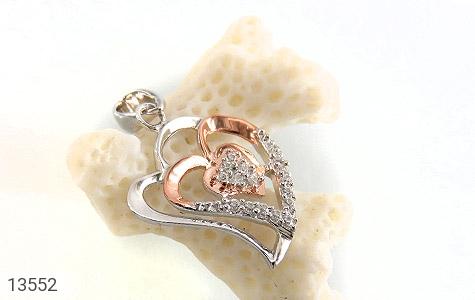 مدال نقره طرح عشق زنانه - تصویر 4