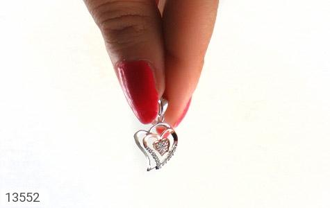 مدال نقره طرح عشق زنانه - تصویر 6