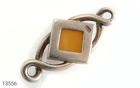 مدال کهربا بولونی لهستان طرح لوزی - عکس 3