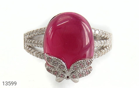 انگشتر نقره طرح مهرناز زنانه - تصویر 2