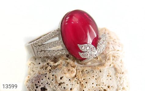 انگشتر نقره طرح مهرناز زنانه - عکس 5