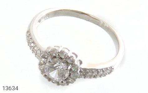 انگشتر نقره طرح پرنسس زنانه - عکس 1