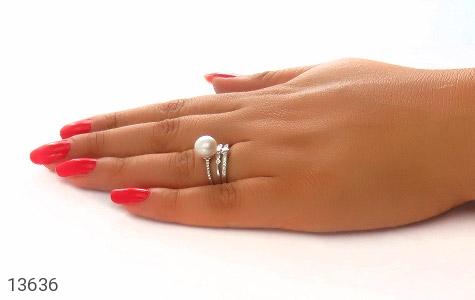 انگشتر مروارید طرح سونیا فری سایز زنانه - عکس 7