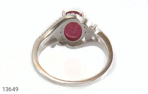 انگشتر یاقوت سرخ طرح شایسته زنانه - تصویر 4