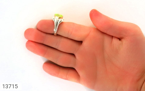 انگشتر زبرجد هنر دست استاد شرفیان - عکس 7