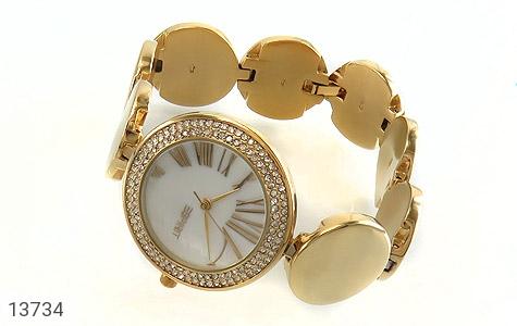 ساعت اسپریت Esprit بند سکهای طلائی زنانه - عکس 1