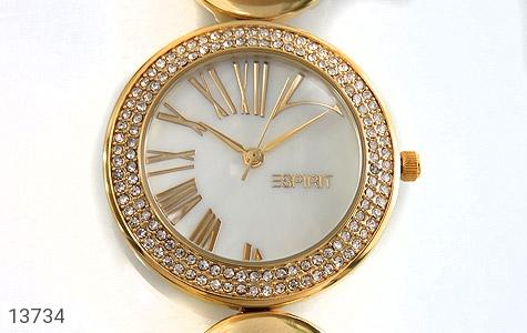 ساعت اسپریت Esprit بند سکهای طلائی زنانه - عکس 3
