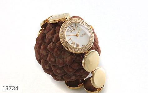 ساعت اسپریت Esprit بند سکهای طلائی زنانه - عکس 7