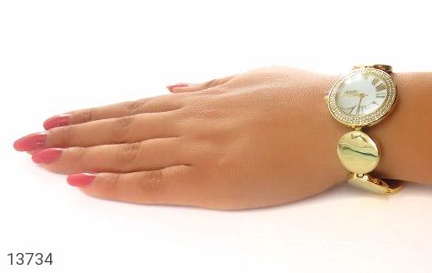 ساعت اسپریت Esprit بند سکهای طلائی زنانه - عکس 9