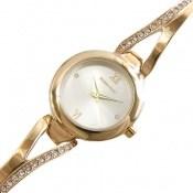 ساعت رمانسون Romanson طلائی پرنگین زنانه