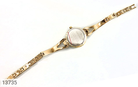ساعت رمانسون Romanson طلائی پرنگین زنانه - تصویر 6
