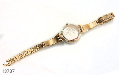ساعت رمانسون Romanson طلائی پرنگین زنانه - عکس 5
