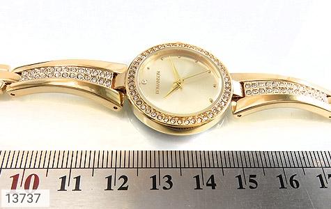 ساعت رمانسون Romanson طلائی پرنگین زنانه - عکس 7
