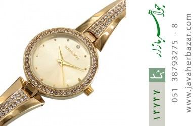 ساعت رمانسون Romanson طلائی پرنگین زنانه - کد 13737